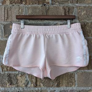 adidas Originals Womens 3 Stripe Short Icey Pink L